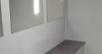 luxusní mobilní wc, vnitřní část, sanitární přívěs XXL, pronájem Štefek