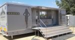 mobilní luxusní toalety XXL, sanitární přívěs, pronájem Štefek
