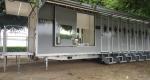 sanitární přívěs splachovací toalety, xxl pro, 12 kabinek, 6 pisoárů, 2 x dvojumyvadla, pronájem Štefek (2)