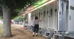 sanitární přívěs splachovací toalety, xxl pro, 12 kabinek, 6 pisoárů, 2 x dvojumyvadla, pronájem Štefek (5)